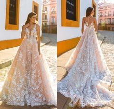 Special petite wedding dresses,pink wedding dressesand unusual wedding dresses are designed for you. crystal design 2017 bridal sleeveless straps deep plunging full embellishment blush color a line wedding dresses sheer back royal train in bestdeals is particular popular among people and you will like it, too.