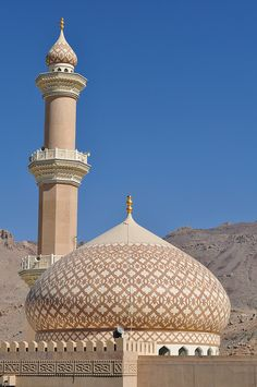 Jama (Friday mosque) in Nizwa, Oman