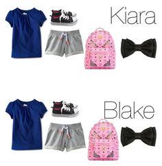 """""""Kiara and Blake"""" by mackenzieandsierra on Polyvore featuring MCM"""