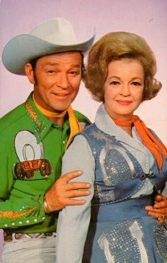 Roy Rogers and wife Dale Evans