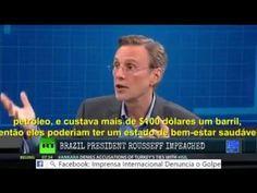Jornalismo da RÚSSIA divulga e analisa o Golpe de Estado no BRASIL.