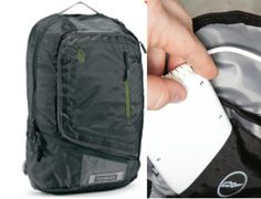 The Power Q is a backpack with laptop pocket and Joey power unit