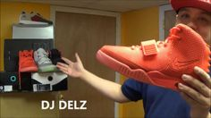 Nike Air Yeezy 2 Red October Sneaker Review + On Feet + Glow Test  j ...