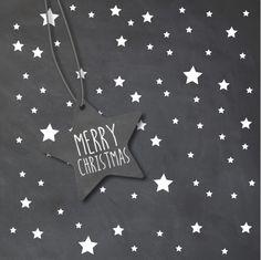 #kerst #kaart #kerstkaart #kerstkaarten #xmas #fuif #merry #christmas #happy #new #year #fijne #feestdagen #kerstdagen #krijt #krijtbord #wit #sterren #ster #label #decoratie