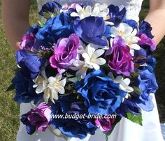 Purple and blue...Love this if I do blue... Wont work if I keep it Red....