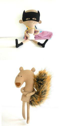 handmade plushies http://knuffelsalacarteblog.blogspot.nl/