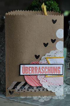 """Stampin´ Up! Artisan DesignTeam BlogHop 23.07.2015 Verpackungsideen mit Geschenktüten """"schnelle Überraschung"""" und """"Tag a Bag Zubehörset"""" und Natur-Elemente """"Wortwörtlich"""" Detailbild03"""