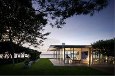Fishers Island House by New York architects Thomas Pfifer and Partners.