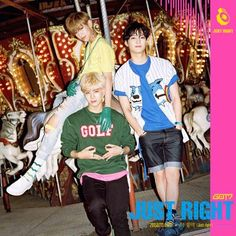 GOT7 the 3rd mini album <Just Right> #GOT7 #Justright #딱좋아