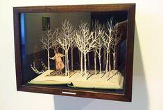 Secret garden diorama