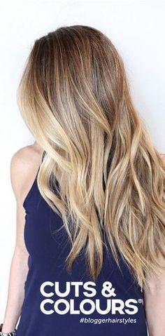 Lang en verzorgd Haar | Wavy | Blond - Balayage kleurtrend