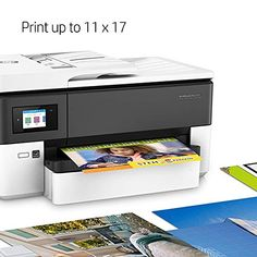HP OfficeJet Pro 7720 All in One Wide Format Printer with Wireless Printing Fast Print, Hp Officejet Pro, Office Printers, Paper Storage, Laser Printer, Bedroom Styles, Paper Size, Floating Nightstand