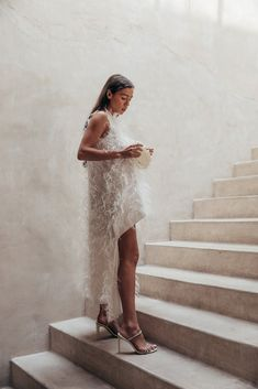 I love Black Friday, I usually try to acquire most of my larger purchases between Black Friday and Cyber Monday. Cult Gaia feather dress. Theia Dresses, Best Black Friday Sales, Silky Dress, Feather Dress, Dresses For Sale, Long Dresses, Off White, Wedding Inspiration, Fashion Inspiration