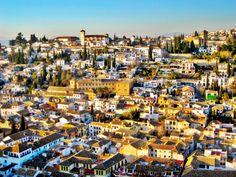 Granada, Spain - aerial view #trivo