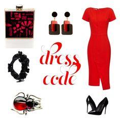 """Red again"" by gloria-yi-qiao on Polyvore featuring Antonio Berardi, Dolce&Gabbana, Valentino and Marni"