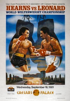 Hearns vs. Leonard
