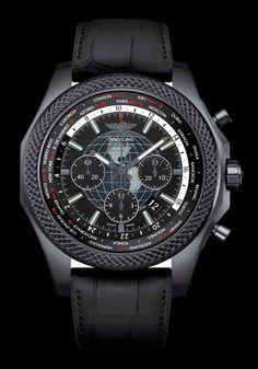 Bentley B05 Unitime Midnight Carbon - Breitling for Bentley