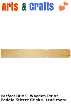 (This is an affiliate pin) Perfect Stix 9' Wooden Paint Paddle Stirrer Sticks Length (Pack of 1000)