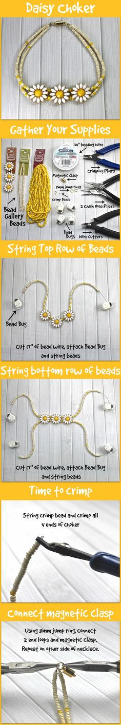 Make your own custom choker necklace in just a few easy steps!