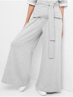 971194c183 Womens:New Arrivals|gap Everyday Look, Wide Leg, Gap, Heather Grey