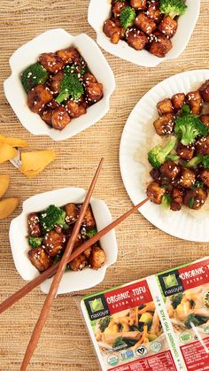 Takeout at home? I think yes! Try out this delicious Vegan General Tso's recipe with the perfect glaze.