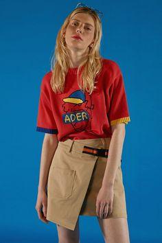 ADER boy knitwear red #ader#fashion#brand#knitwear#stripe   Supernatural Style
