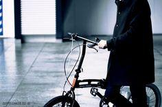 スタイルに合わせて選べる2タイプモノトーンスタイルで構成する20インチフォールディングバイシクル DOPPELGANGER 202-GY  服を着るように アクセサリーを身につけるように 自分だけのスタイルを  Like putting on clothes and accessories.  #bicycle #bike #vicicleta #fahrrad #velo #bicicletta #fiets #cykel #велосипед #POLKUPYÖRÄRETKI #자전거 #ドッペルギャンガー #DoppelgangerBike #自転車のある風景 #instabicycle #minivelo #foldingbike #コミューターバイク #commuterbike #everydaybike