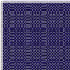Weaving Draft cw773882, Crackle Design Project, Ralph Griswold, United States, 2004, #13426
