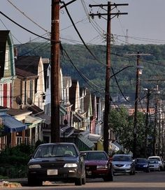 Typical neighborhood, Pittsburgh, Pennsylvania