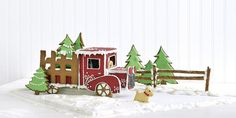 Make This Adorable Gingerbread Truck for Christmas  - CountryLiving.com
