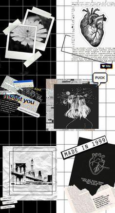 Fondos Blanco Y Negro - Mary Randle Ed Wallpaper, Dark Wallpaper Iphone, Halloween Wallpaper Iphone, Iphone Background Wallpaper, Galaxy Wallpaper, Cartoon Wallpaper, Black Aesthetic Wallpaper, Iphone Wallpaper Tumblr Aesthetic, Aesthetic Wallpapers