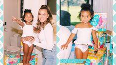 Khloe Kardashian and True Thompson Team Up With Pampers Khloe Kardashian, Tutu, Daughter, Celebrity, Babies, Youtube, Kids, Young Children, Babys