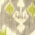 For my (new) new office curtains. Richloom Dorrigan Celery.