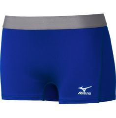 """Mizuno Women's 2.75"""" Flat Front Low Rider Volleyball Shorts 