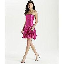 bubble prom dress