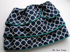 The Girl Creative: Petal Tiered Skirt Tutorial