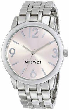 Nine West Women's NW/1579PKSB Light Pink Dial Silver-Tone Bracelet Watch Nine West http://www.amazon.com/dp/B00I5B27LQ/ref=cm_sw_r_pi_dp_BOBOtb02YP9FHEA7