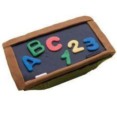 Celebrate back to school with Learning the Basics Mini Cake. Each mini cake serves 1.