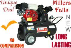 Compressor Petrol Driven 5.5-hp=50L MILLERS FALLS