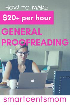 Make money online with proofreading jobs, even beginners can get started as a proofreader! This side hustle is a great way for moms to make extra cash at home.