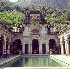 Rio de Janeiro, Parque Lage. #travel #viagem #traveluv