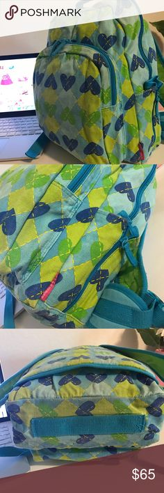 AGATHA RUIZ DE LA PRADA BACKPACK beautiful soft jean fabric, designer from Spain (Agatha Ruiz de la Prada), excellent used condition. Adjustable straps, padded back and straps. Pocket in front and on the side. Color: blue and green. 💗Condition: EUC, No flaws, no rips, holes or stains 💗Smoke free home 💗No trades, No returns 💗No modeling  💗Shipping next day 💗I LOVE OFFERS, offer me! 💗BUNDLE and save more 💗All transactions video recorded to ensure quality.  💗Ask all questions before…