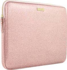 "Kate Spade New York - Glitter Sleeve For 13"" Apple® Macbook® - Rose Gold YES PLEASEEEEE❤️❤️"