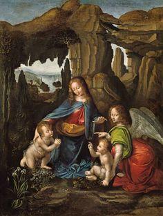 Madonna of the rocks, da Vinci.