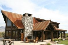 Winter Park Log Home - my dream home, once I make a few small floorplan changes