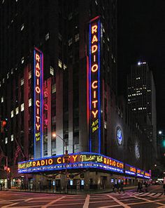 RADIO CITY MUSIC HALL..