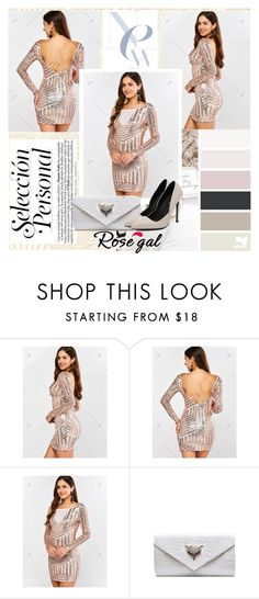 """rosegal #37"" by sanela-trebinjac ❤ liked on Polyvore featuring MustHave, fashionset, polyvoreeditorial and rosegal"