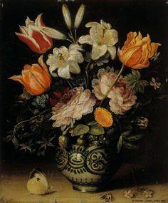 The Athenaeum - Vase with Flowers (Jan Brueghel the Elder - )