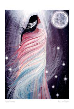 Canadian Art Prints and Winn Devon Art Group Inc. Native American Paintings, Native American Artists, Native American Drawing, Fantasy Kunst, Fantasy Art, Kunst Der Aborigines, Canadian Art, American Indian Art, Indigenous Art