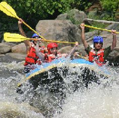 Adirondack Adventures: Brave the rapids and cool off as you raft down the Hudson River Gorge, float, tube, kayak or canoe the Hudson and other waterways. Let us guide you to the experience you are looking for. We know the river well, and we'll customize your adventure to just the right level of excitement and challenge for your group. We are located on River's Edge, just 30 minutes from Lake George, and you'll find this area packed with activities that are fun and adventurous.